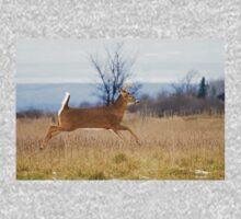 Deer Run - White-tailed deer One Piece - Long Sleeve