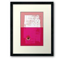 Vessel Framed Print