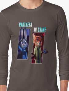 Zootopia Partners in Crime Long Sleeve T-Shirt