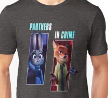 Zootopia Partners in Crime Unisex T-Shirt