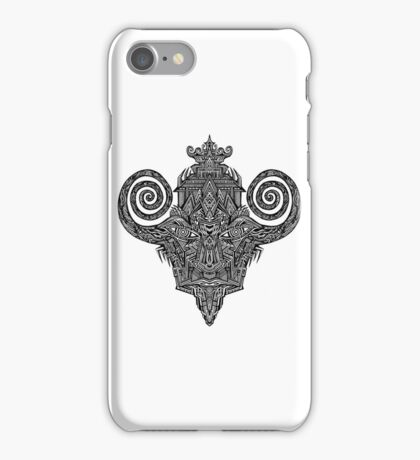 trip drawing iPhone Case/Skin