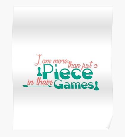 Piece In Their Games Poster