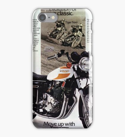 Triumph T160 Trident iPhone Case/Skin