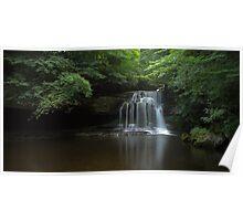 Waterfall, West Burton Poster