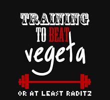 Training To Beat Vegeta Unisex T-Shirt