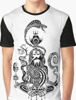 Pray black and white Graphic T-Shirt