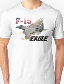 F-15 Eagle USAF Bald Eagle T-Shirt