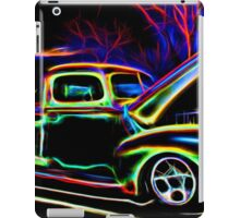 1940 Ford Pick-up Truck Neon iPad Case/Skin