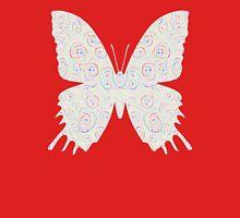 #DeepDream White Butterfly Unisex T-Shirt