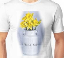 Daffodils and Milk Jug Unisex T-Shirt