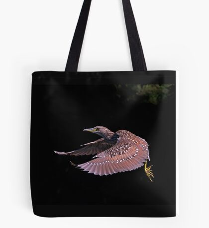 Juvenile Black-crowned Night Heron Tote Bag