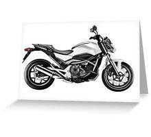 Honda NC700S /Agat/ Greeting Card