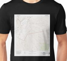 USGS TOPO Map Hawaii HI Mauna Loa 349581 1981 24000 Unisex T-Shirt