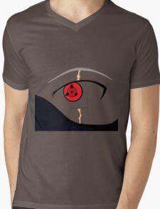 kakashi eyes Mens V-Neck T-Shirt