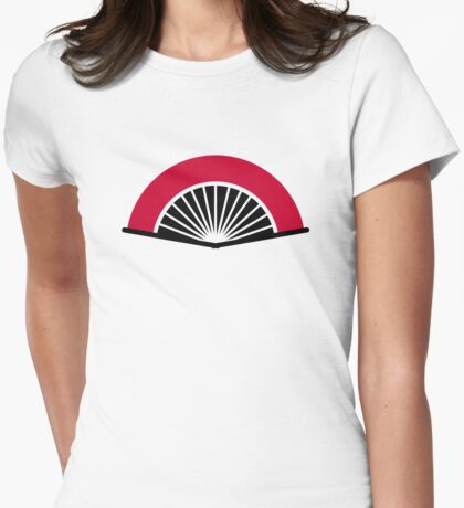 Fan Womens Fitted T-Shirt