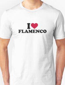 I love Flamenco Unisex T-Shirt