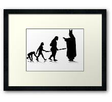 Human Evolution 5 Framed Print