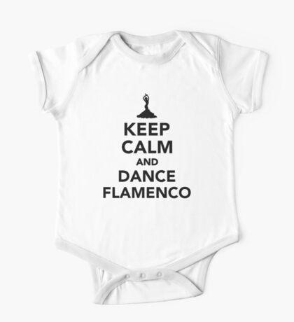 Keep calm and dance Flamenco One Piece - Short Sleeve