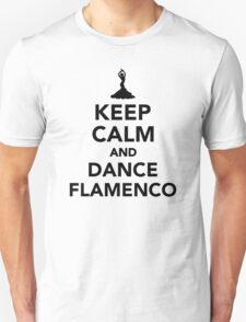Keep calm and dance Flamenco T-Shirt