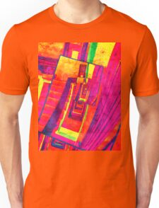 Pop Art Stairwell Abstract Unisex T-Shirt