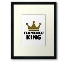 Flamenco king Framed Print