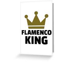 Flamenco king Greeting Card