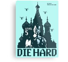 Die Hard... Level 5! Metal Print