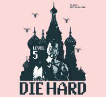 Die Hard... Level 5! Kids Tee