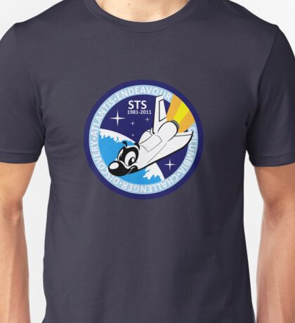 Space shuttle adventures - mission patch Unisex T-Shirt