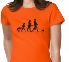 Human Evolution 9 Womens Fitted T-Shirt