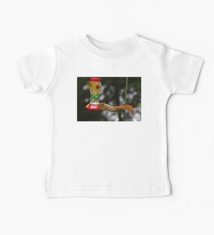 Now what do I do? - Red Squirrel Baby Tee
