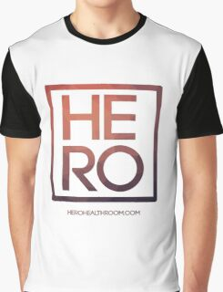 HERO ETHEREAL SQUARE Graphic T-Shirt