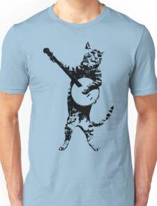 BANJO CAT Funny Unisex T-Shirt