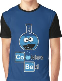 Cookies Bad! Graphic T-Shirt