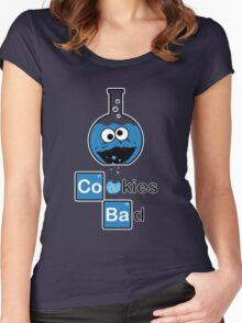 Cookies Bad! Women's Fitted Scoop T-Shirt