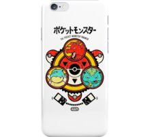 Pokemon-Pikachu-Pokeball iPhone Case/Skin
