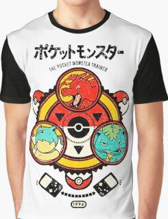 Pokemon-Pikachu-Pokeball Graphic T-Shirt