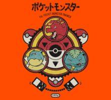 Pokemon-Pikachu-Pokeball Kids Tee