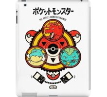 Pokemon-Pikachu-Pokeball iPad Case/Skin