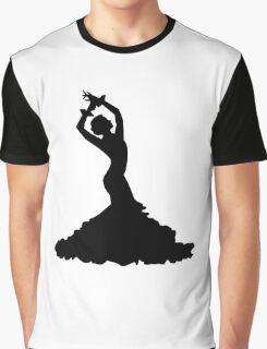 Flamenco woman Graphic T-Shirt