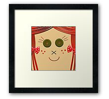 Rag Doll Framed Print