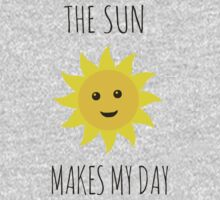 The sun makes my day Kids Tee