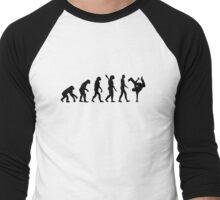 Evolution hip hop Men's Baseball ¾ T-Shirt