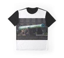 Bronze Cannon Graphic T-Shirt