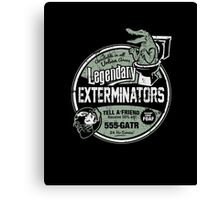 Legendary Exterminators Canvas Print