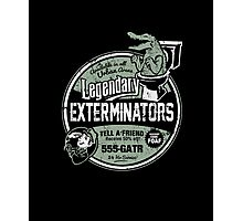 Legendary Exterminators Photographic Print
