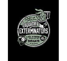 Legendary Exterminators Photographic Print