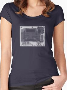 Nintendo Entertainment System (NES) - X-Ray Women's Fitted Scoop T-Shirt