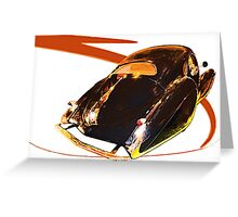 French Curves Greeting Card