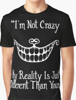 Cheshire cat's quote Graphic T-Shirt